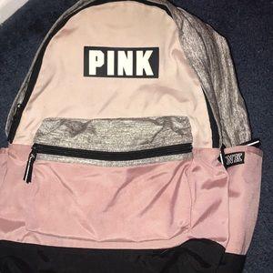 PINK & Jansport backpack